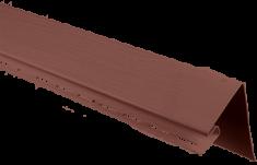 """Планка """"околооконная"""", 3м, цвет Красно-коричневый"""