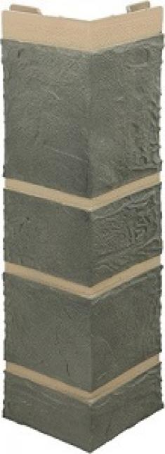 Наружный угол Камень серый