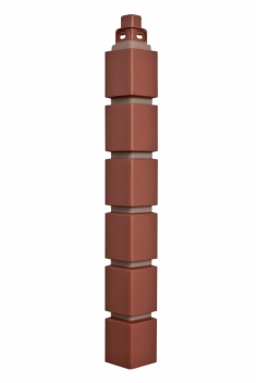 Наружный угол Кирпич клинкерный  МАЛЫЙ (жжёный)