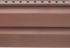Акриловый сайдинг Kanada Плюс Премиум Красно-коричневый, 3,66м
